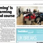 abandofbrothers 'Homecoming' featured in the Cornishman